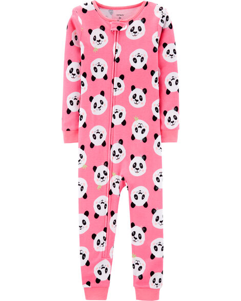 e6c60f32438a Display product reviews for 1-Piece Panda Snug Fit Cotton Footless PJs