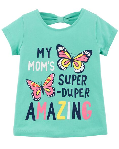 Display product reviews for Mom's Amazing Bow-Tie Tee