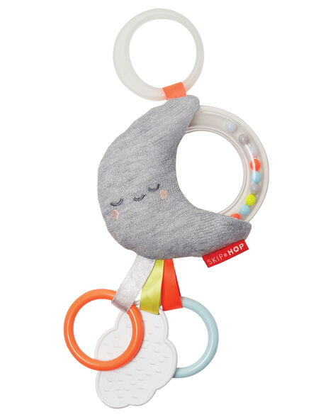 Display product reviews for Silver Lining Cloud Rattle Moon Stroller Baby Toy