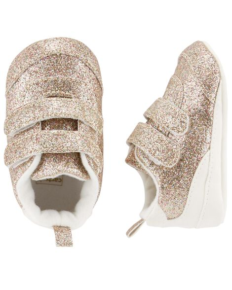 Display product reviews for Carter's Glitter Sneaker Baby Shoes