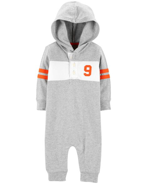 Display product reviews for Hooded Rugby Coveralls