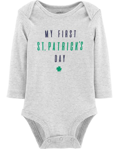 Display product reviews for St. Paddy's Day Bodysuit