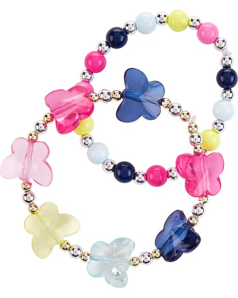 Display product reviews for 2-Pack Butterfly Bracelets