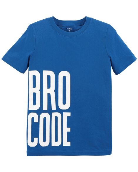 Display product reviews for Bro Code Jersey Tee