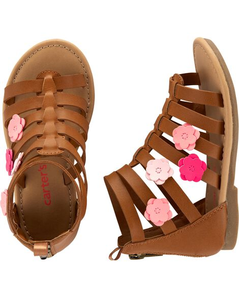 a2e6f475ee6fb Girls' Shoes: Boots, Sandals & Sneakers | Carter's | Free Shipping