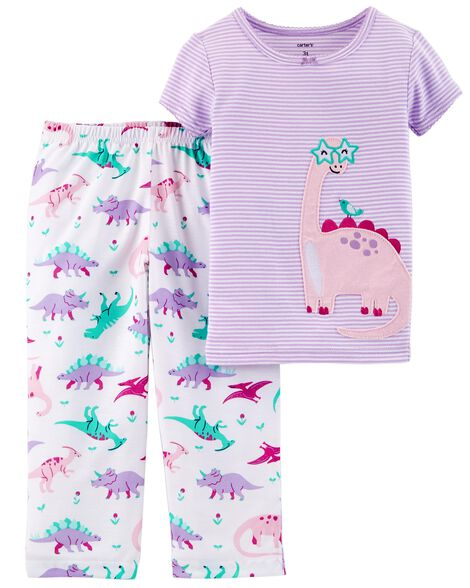 Display product reviews for 2-Piece Dinosaur Cotton & Poly PJs