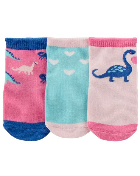 Display product reviews for 3-Pack Dinosaur Crew Socks