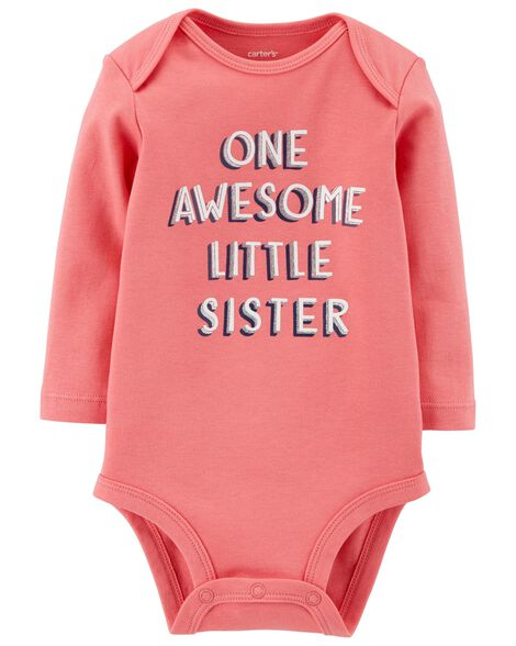 Display product reviews for Awesome Little Sister Collectible Bodysuit