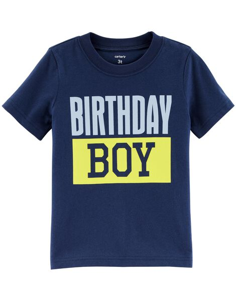 7ee87095f Baby Boy Tops: Collared & Dress Shirts, T-Shirts | Carter's | Free ...