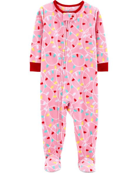 Display product reviews for 1-Piece String Lights Fleece PJs