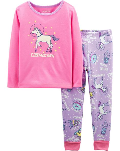 Display product reviews for 2-Piece Cosmic Unicorn PJs