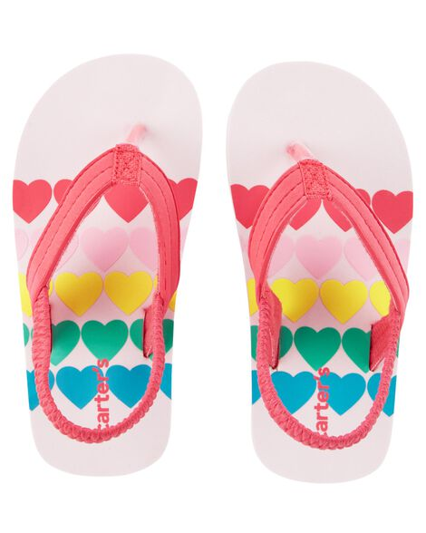 Display product reviews for Carter's Heart Flip Flops