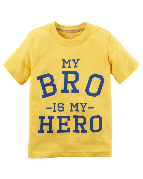 Display product reviews for Bro Is My Hero Tee
