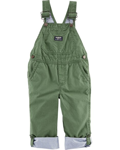 Display product reviews for Pinstripe-Lined Overalls