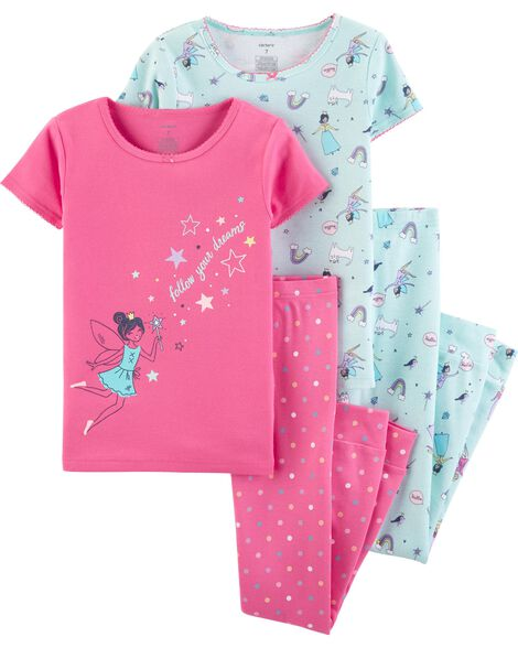 af534645921 Display product reviews for 4-Piece Fairy Snug Fit Cotton PJs