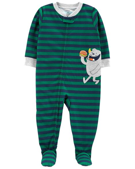 Display product reviews for 1-Piece Monster Poly PJs