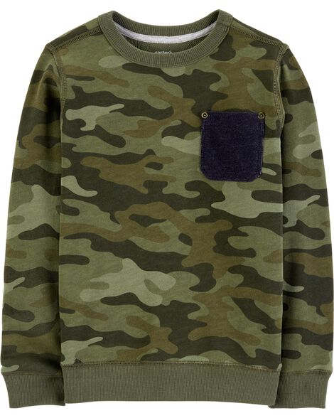 Display product reviews for Camo Pullover