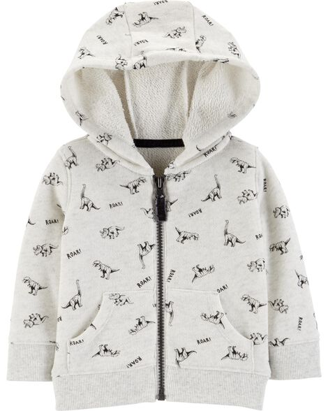 Display product reviews for Dinosaur Zip-Up French Terry Hoodie