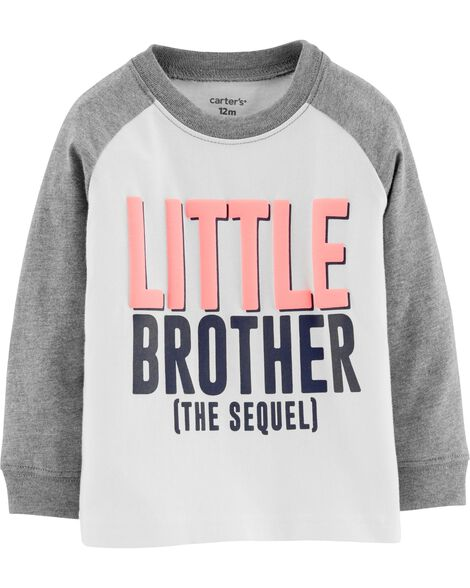 Display product reviews for Little Bro Raglan Jersey Tee