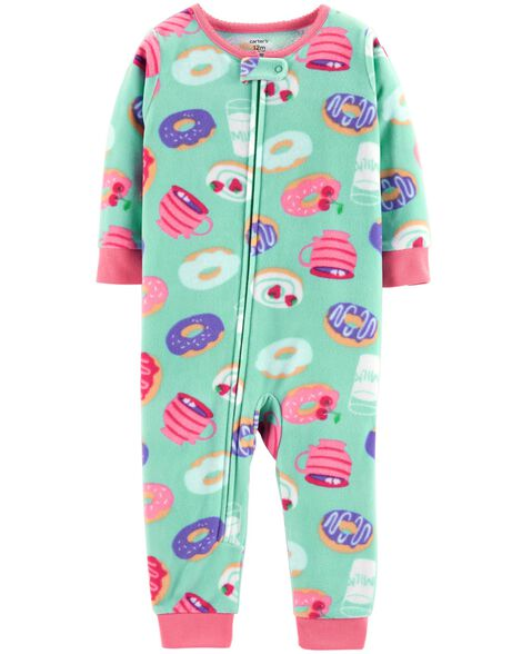 Display product reviews for 1-Piece Donut Fleece Footless PJs