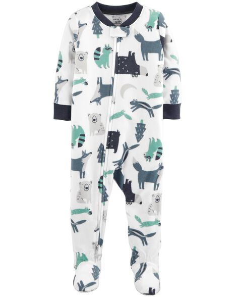 Display product reviews for 1-Piece Woodland Creatures Fleece PJs