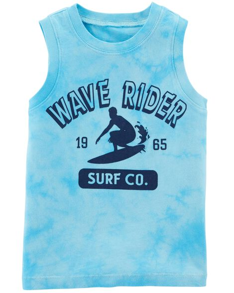Display product reviews for Garment-Dyed Wave Rider Tank