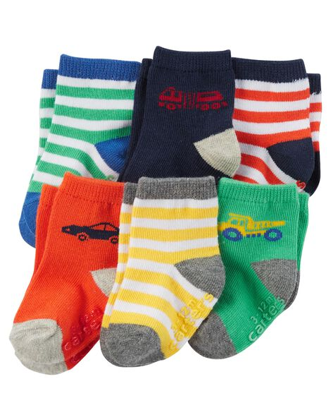 Display product reviews for 6-Pack Crew Socks