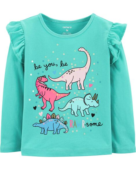 Display product reviews for Dinosaur Flutter Tee