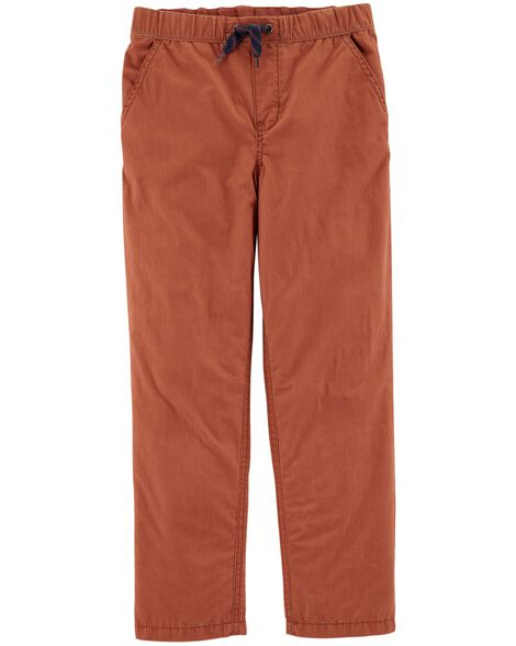 Display product reviews for Pull-On Poplin Play Pants