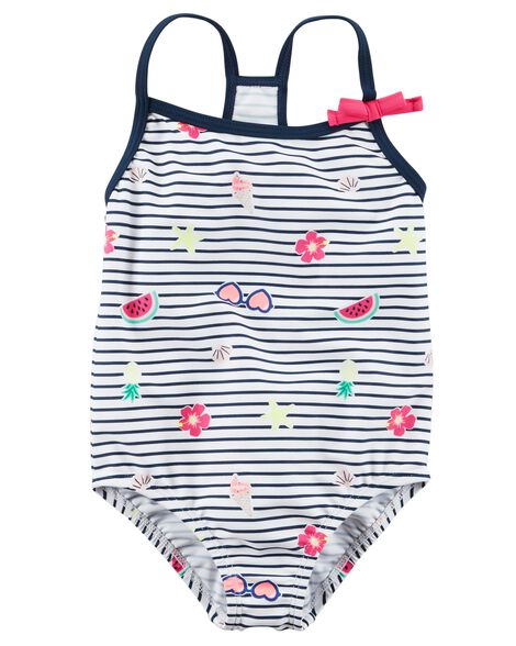 Display product reviews for Carter's Bow Swimsuit