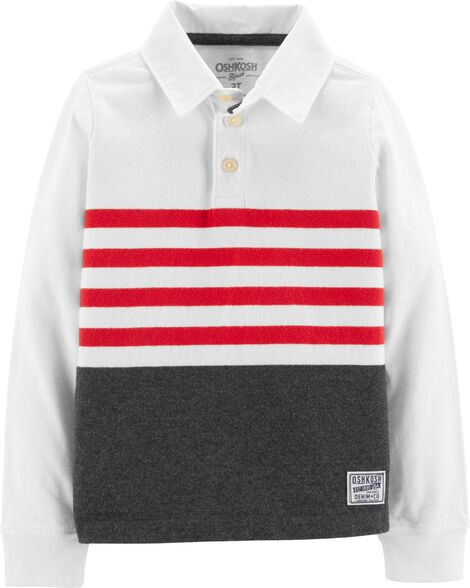 Display product reviews for Striped Polo