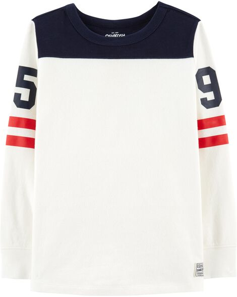 Display product reviews for Varsity Tee