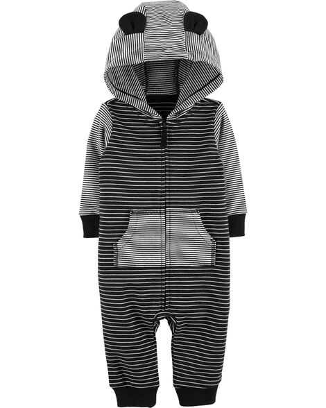 2b70fa0b73c2 Display product reviews for Hooded Striped Jumpsuit
