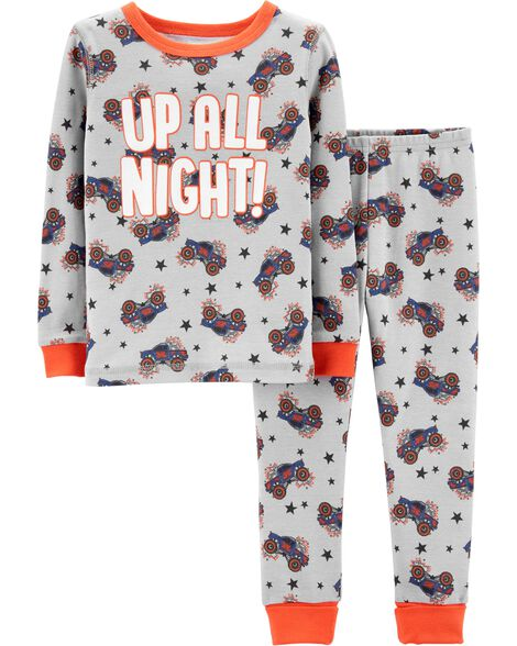Display product reviews for Snug Fit Monster Truck Cotton PJs