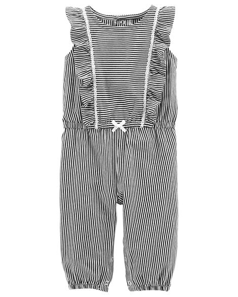Display product reviews for Ruffle Jumpsuit