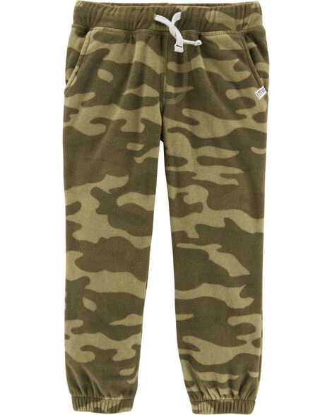 Display product reviews for Camo Pull-On Fleece Joggers