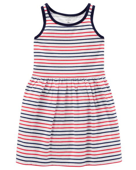 Display product reviews for Striped Tank Jersey Dress