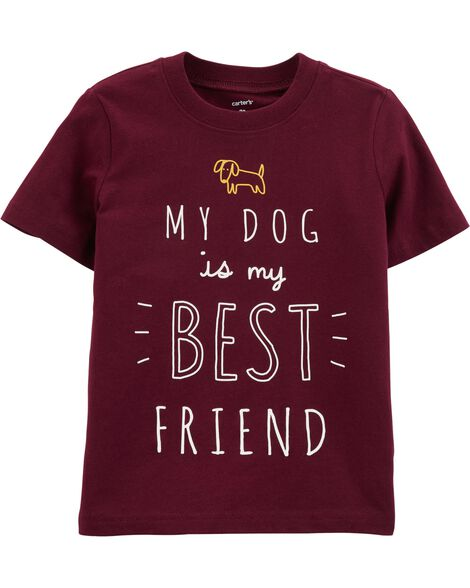Display product reviews for My Dog Is My Best Friend Jersey Tee