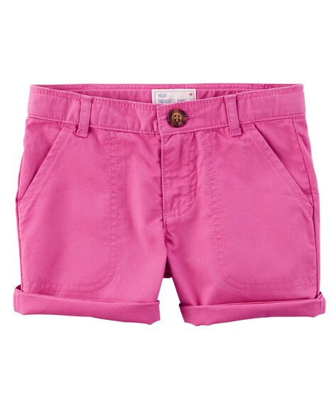 Display product reviews for Twill Roll-Cuff Shorts
