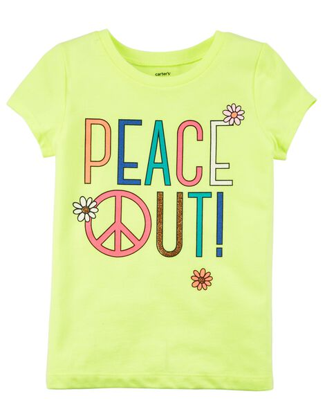 Display product reviews for Neon Peace Out Jersey Tee