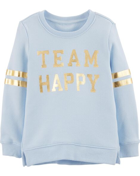 Display product reviews for Team Happy Pullover