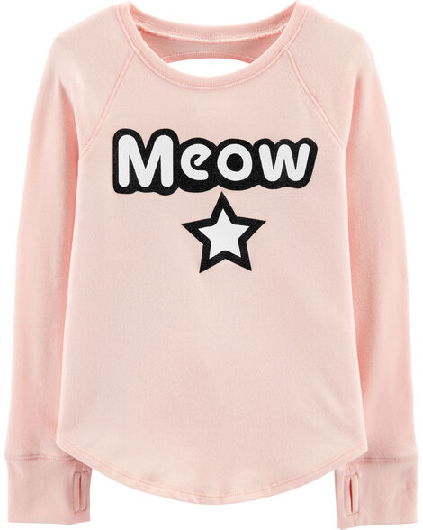 Display product reviews for Open Back Meow Tee