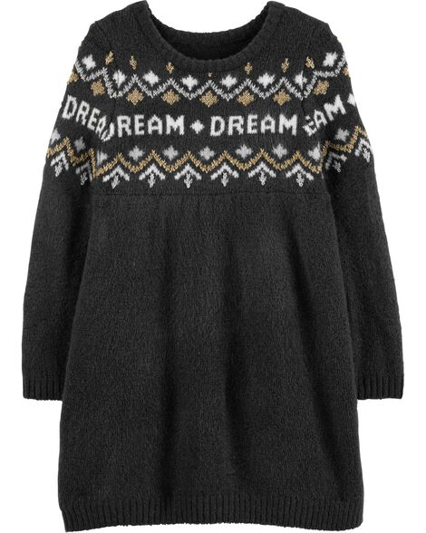 36aebea5e03 Display product reviews for Glitter Dream Sweater Dress