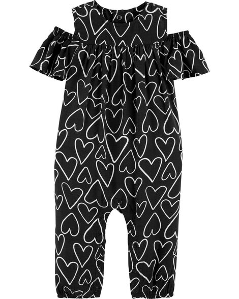 dbba8bbe64 Display product reviews for Heart Cold Shoulder Jumpsuit