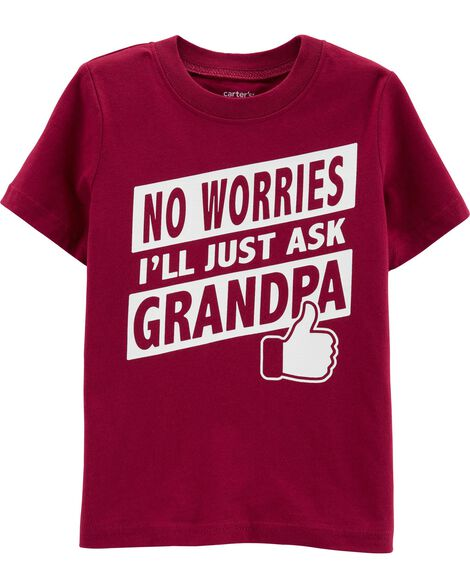 Display Product Reviews For Ill Ask Grandpa Jersey Tee