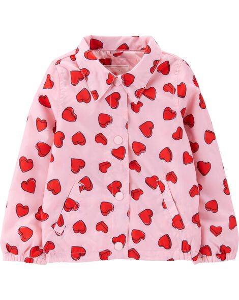 Display product reviews for Heart Bomber Jacket
