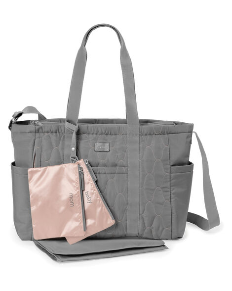 Carters Pack It All Diaper Tote - Grey