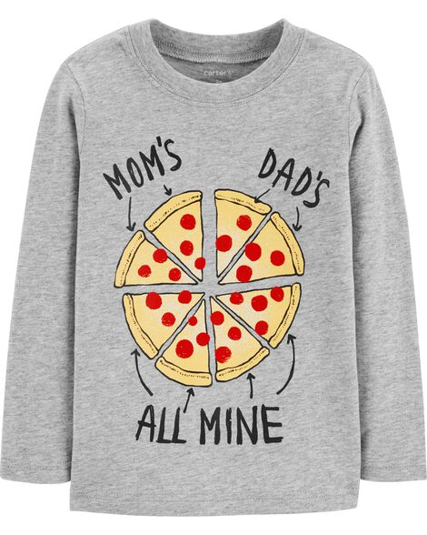 Display product reviews for Mom & Dad Pizza Jersey Tee