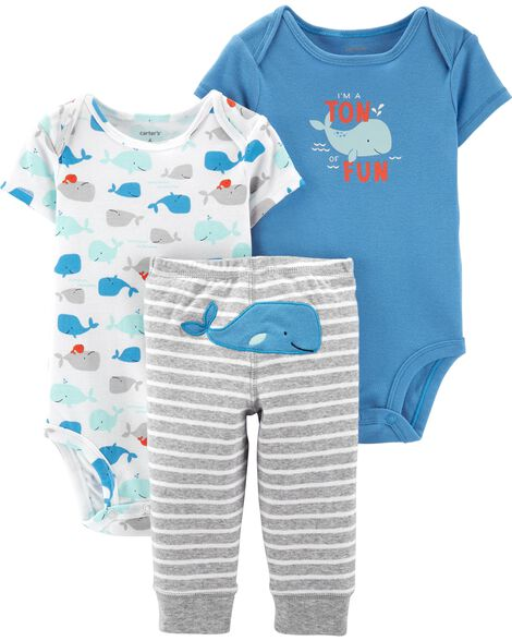 Display product reviews for 3-Piece Whale Little Character Set