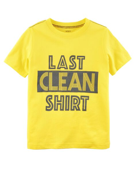 Display product reviews for Last Clean Shirt Jersey Tee